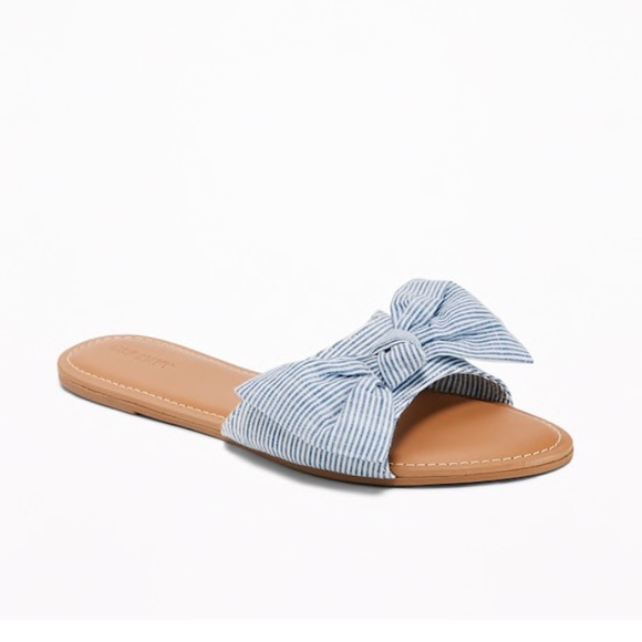 748cbdccdd999b Old Navy Bow Slide Sandals